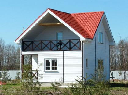 Готовый дом, участок #65 (ПРОЕКТ #3)- ПРОДАН