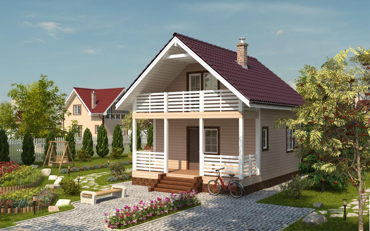 Коттеджи и дачные дома проекты фото