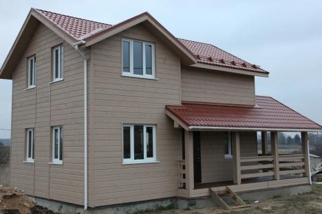 Готовый дом, индивидуальный проект (ПРОЕКТ #5)