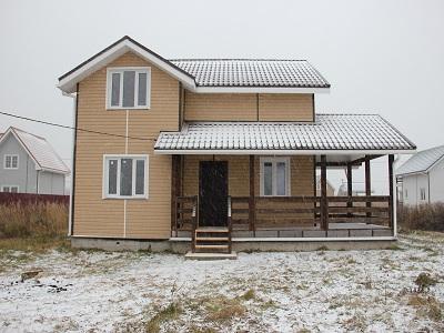 Готовый дом 113м, участок #47 (ПРОЕКТ #5)