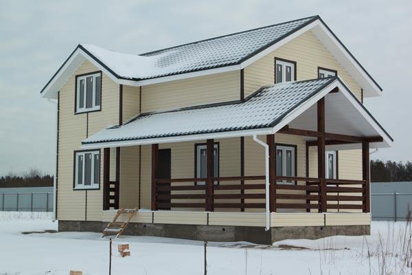 Зимний дом под ключ - цена удивит вас!